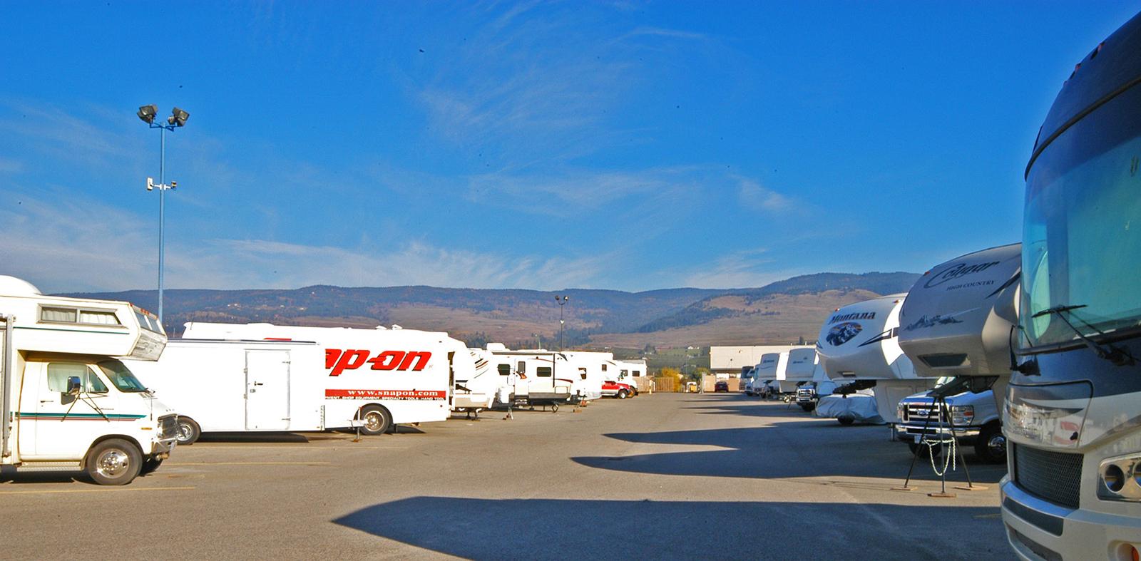 & Kelowna Self Storage Company Expands RV Storage