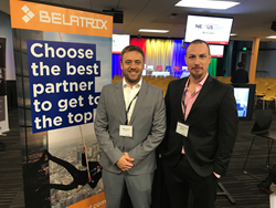 Pablo Lecea and Fernando Gonzalez from Belatrix Software at Nexus 2017