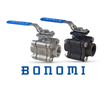 Bonomi North America Introduces Full-Port, High-Performance Three-Piece Ball Valves With ISO 5211 Actuator Mounting Pad