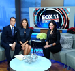 Ortiz on set of Fox News
