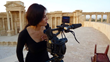 Ortiz filming in Syria