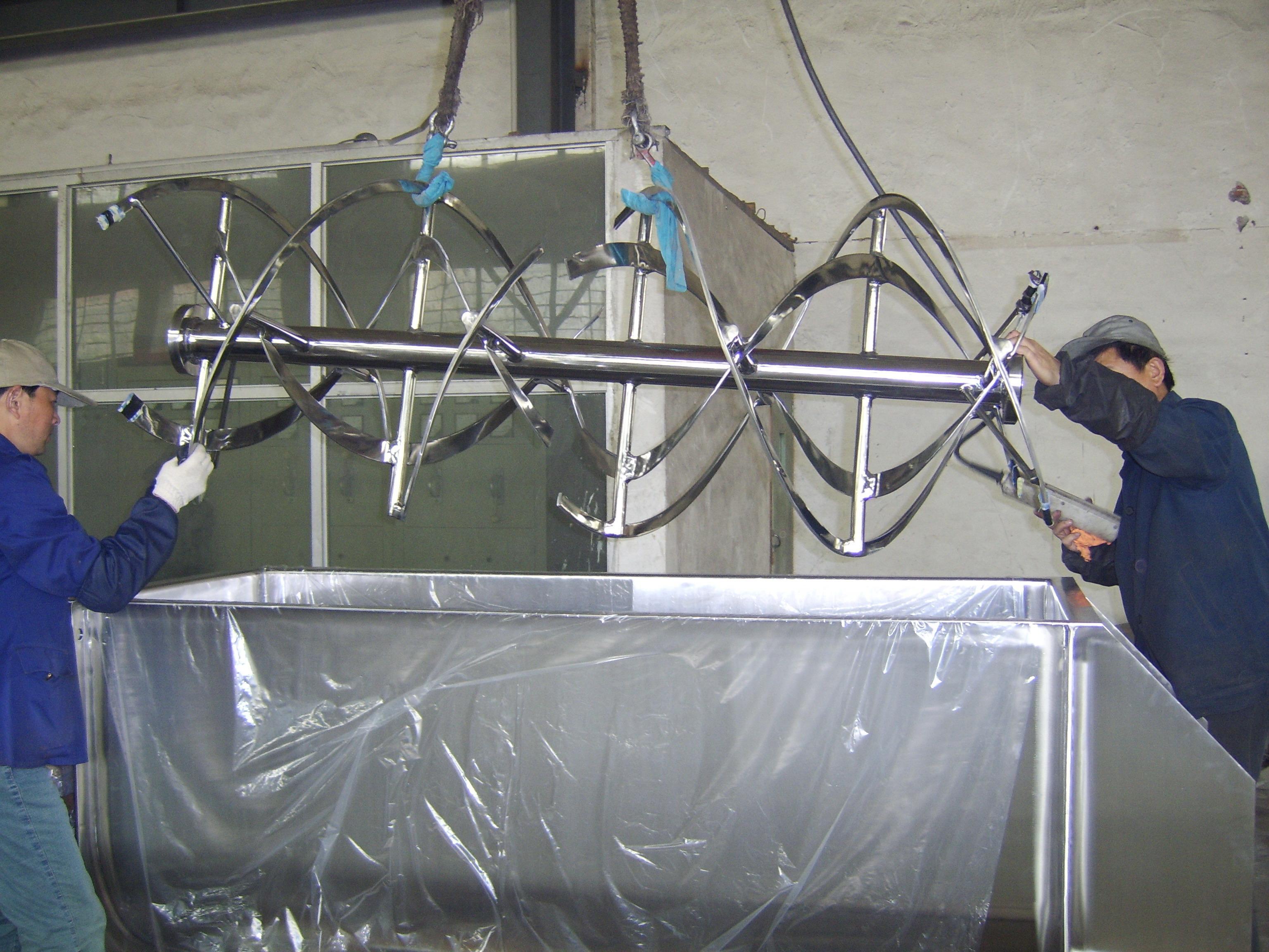 Vortex Mixing Technology Developed Removable Ribbon Shaft