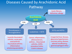 Diseases Caused by Arachidonic Acid Pathway