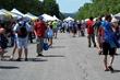 Crowd at Nine Lakes Wine Festival.