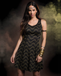 Wonder Woman has now inspired her own collection of fangirl fashion, courtesy of powerhouse & lifestyle brand Her Universe. Part of the collection includes this Reversible Wonder Woman Dress.