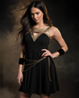 Wonder Woman has now inspired her own collection of fangirl fashion, courtesy of powerhouse & lifestyle brand Her Universe. Part of the collection includes this Golden Lasso of Truth Dress.