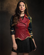Wonder Woman has now inspired her own collection of fangirl fashion, courtesy of powerhouse & lifestyle brand Her Universe. Part of the collection includes this Wonder Woman Moto Jacket (front).