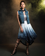 Wonder Woman has now inspired her own collection of fangirl fashion, courtesy of powerhouse & lifestyle brand Her Universe. Part of the collection includes this Ombre High-Lo Skirt.