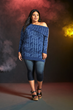 Wonder Woman has now inspired her own collection of fangirl fashion, courtesy of powerhouse brand Her Universe. Part of the collection includes this Plus Size Wonder Woman sweater (@ Torrid.com only)
