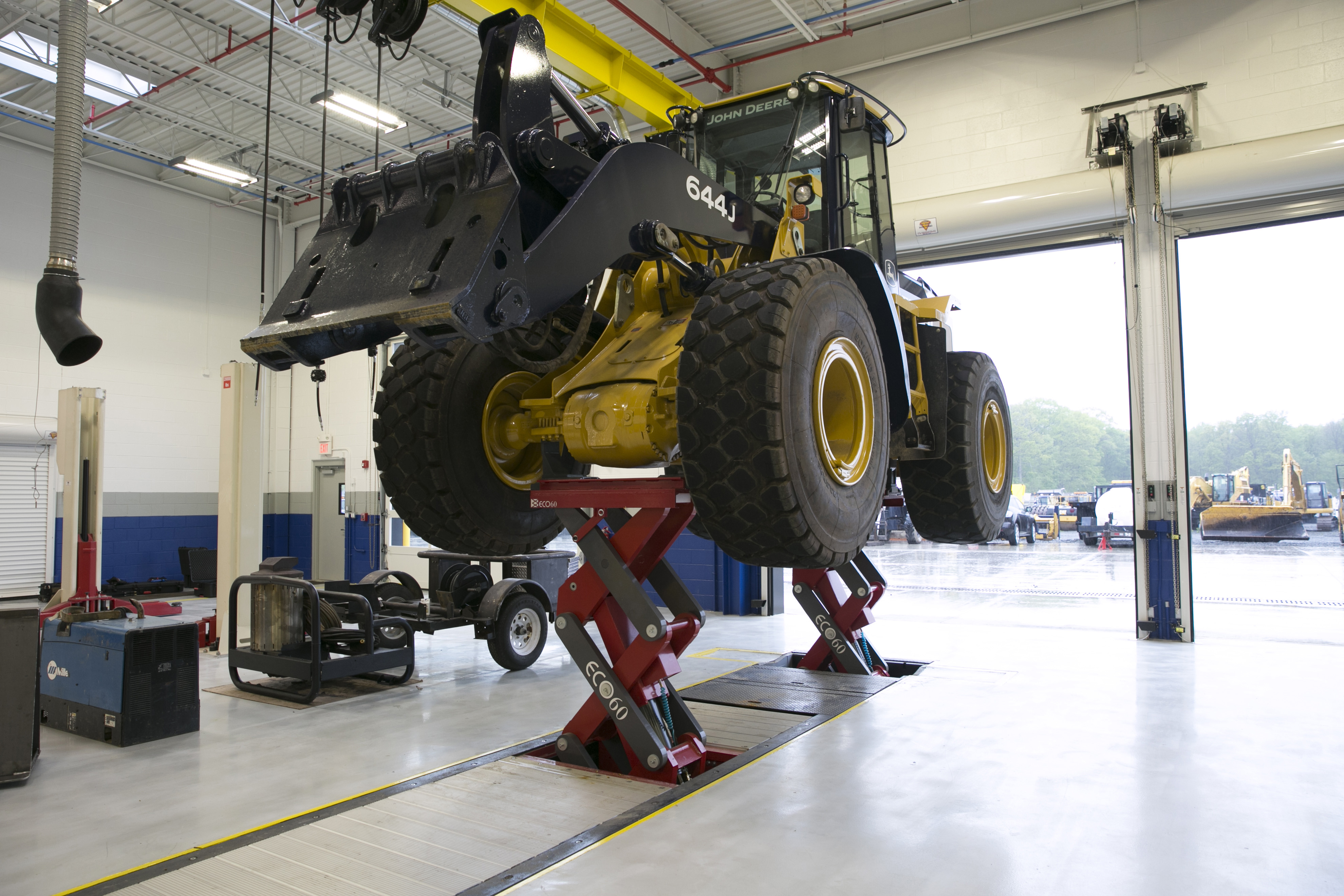 In Ground Car Lift : Top east coast construction firm d annunzio sons taps