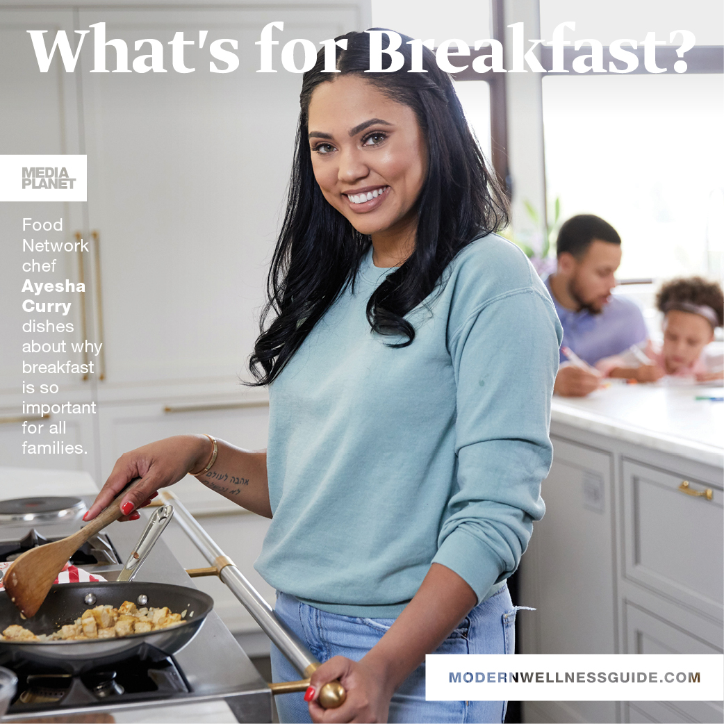 """Mediaplanet and Ayesha Curry Raise the Question """"What\'s for Breakfast?"""""""