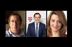 L to R: Richard Katz, Alexander Görlach, Marlene Laruelle