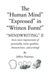 "Author Jeffrey Hammer's New Book ""The Human Mind Expressed in Written Form"" is an Instructional Guide to Handwriting Analysis"