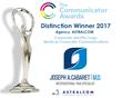 ASTRALCOM Wins 2017 Communicator Award for Logo Design
