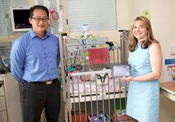 George Wu and Kristin Hoffman