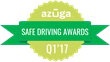 Azuga® Announces its First Safe Driving Award Recipients of 2017 Ahead of National Safety Month