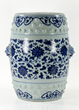 18th/19th C. Chinese Blue and White Porcelain Stool