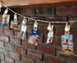 The Polaroid LED string light with LED photo clips
