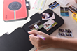 The Polaroid camera scrapbook photo album