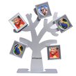 The Polaroid family tree frame