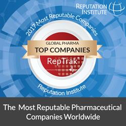 2017 Global Pharma RepTrak