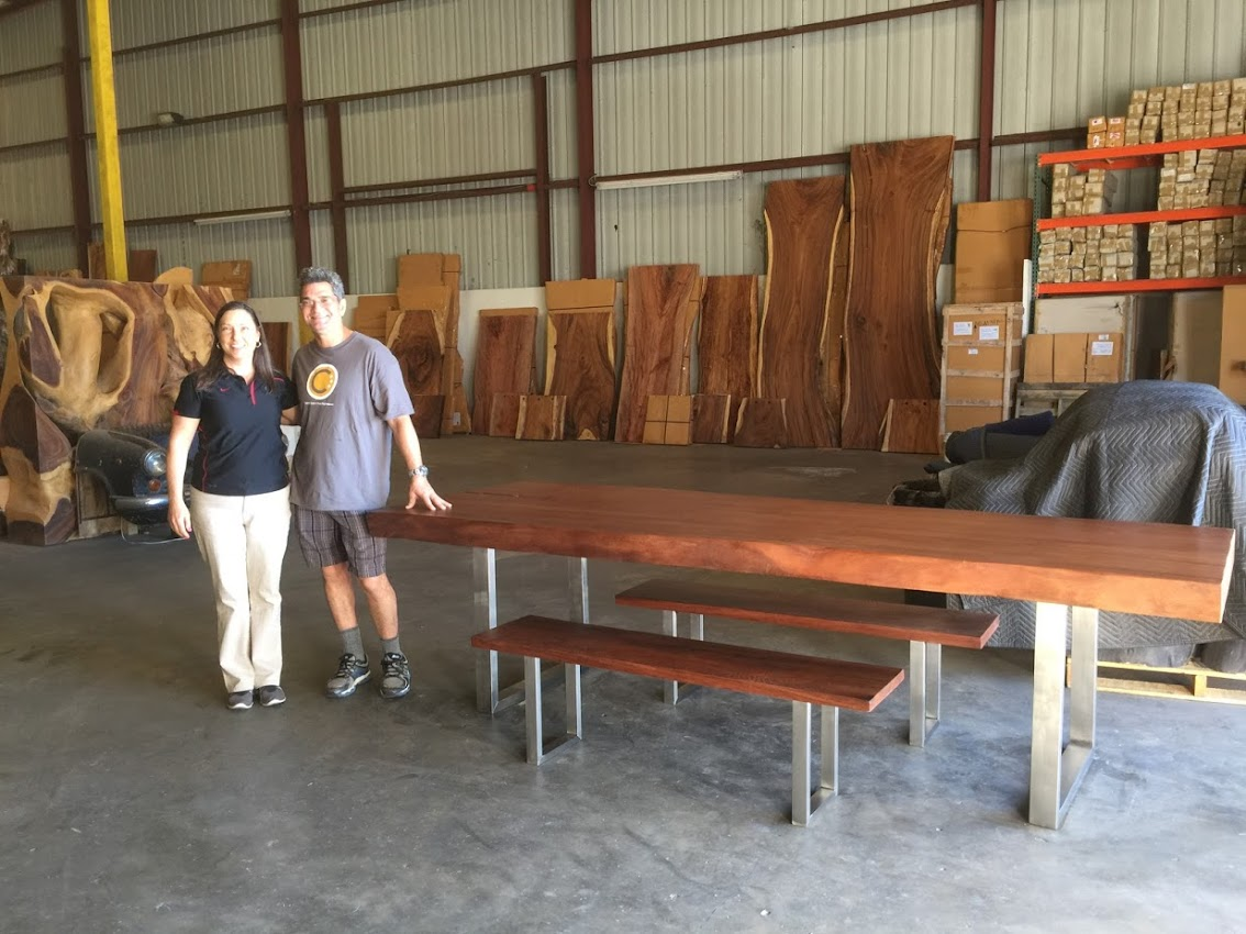Live Edge Slab Furniture. Decor Direct Wholesale Warehouse Named One of Top 50 Furniture