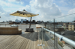 "Hollaender® Manufacturing Provides ""KLEAR"" View of Cincinnati Skyline for Brewery's Rooftop Patio"