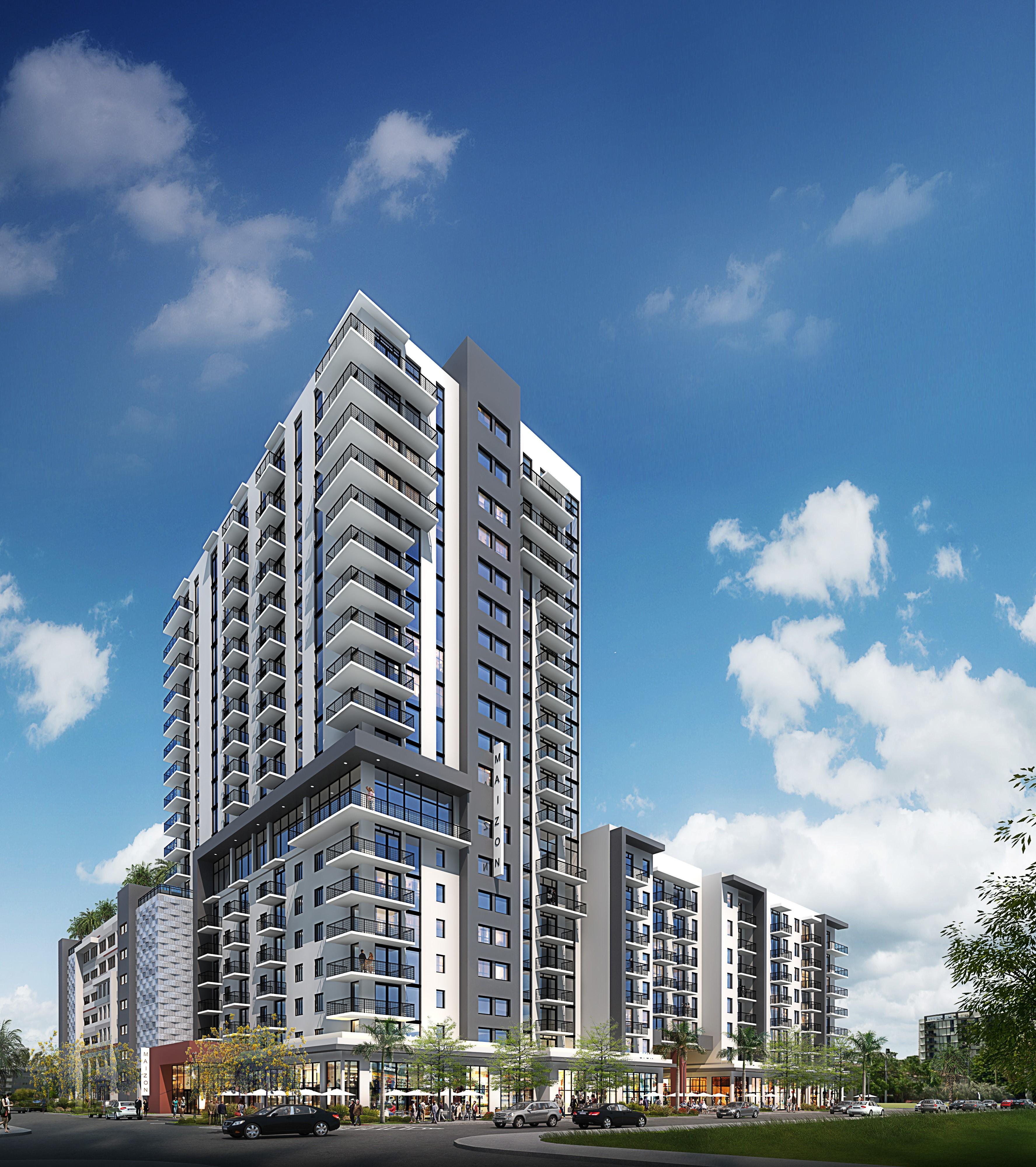 Miami Apartments: ZOM Florida And Invesco Real Estate Break Ground On Luxury
