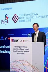 Professor Timothy W. Tong, PolyU President