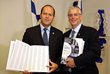Jerusalem Mayor Nir Barkat with United with Israel Founder Michael Gerbitz