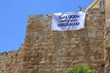UWI's 500,000+ United with Jerusalem Banner in Jerusalem's Old City