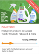 Planetsafe Announces $1 Million CrowdFunder.com Campaign: Now, Green Not Only Cleans, It Cleans Best