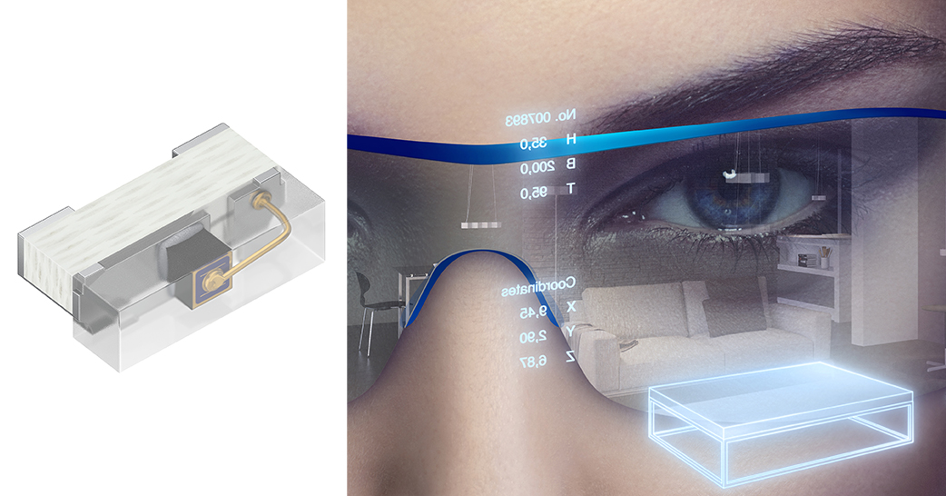 bacd353e7254 Augmented and virtual reality systems use Osram infrared LEDs to know where  the user is looking