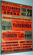 Avid Collector Announces His Search for Original 1965 Yardbirds Alexandria Roller Skating Rink Concert Poster.