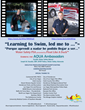 """Learning to Swim, led me to...""  PSA Video Poster"