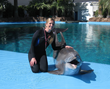 Erin Wise, Supervisor of Dolphin Care at The Mirage Dolphin Habitat