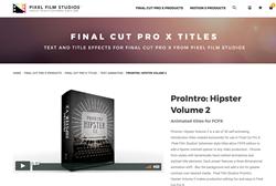 ProIntro Hipster Volume 2 - Pixel Film Studios