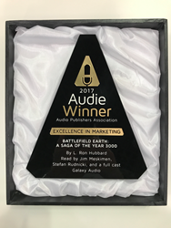 Battlefield Earth's 2017 Audie Award For Excellence In Marketing