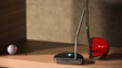 Smart Putter with Built-In LED Level Indicator, Laser Pointer