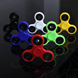 Different colors of fidget spinners. (Red, Blue, Black, etc.)