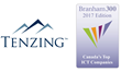 Tenzing Ranks as Leading Technology Company in Canada for Ninth Consecutive Year