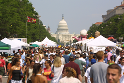On June 24th and 25th, Historic Pennsylvania Avenue will once again transform into a festival of amazing sights, sounds, and aromas.