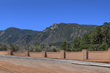 View of Cheyenne Mountain from Marland Park