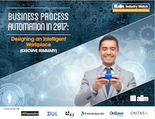 Business Process Automation in 2017: Designing and Intelligent Office