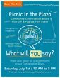 Washougal Conversation Board Kick-Off Event Flier, July 1, 2017.