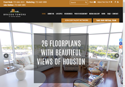 Brazos Towers at Bayou Manor Launches New Website