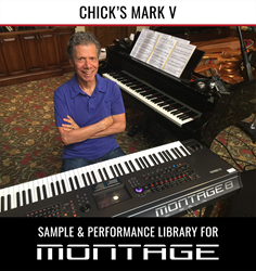 Legendary artist Chick Corea, with Yamaha MONTAGE8