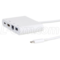 USB 3.1 Type-C Hub Adapters and Dongle Cables