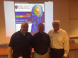 ConcussionWise presentation recently held at Central Dauphin East High School presenters L-R Dr. Michael Cordas, Jeff Shields, John Moyer