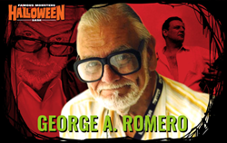 George A. Romero comes to Famous Monsters Hallowen in San Jose.